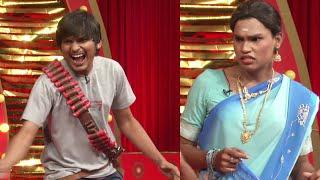 Jabardasth Rakesh & Kevvu Karthik Hilarious Performance - Gajadhonga Gangulu Comedy Skit - MALLEMALATV