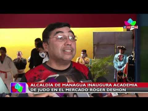 Alcaldía de Managua inaugura Academia de Judo en el Mercado Róger Deshon