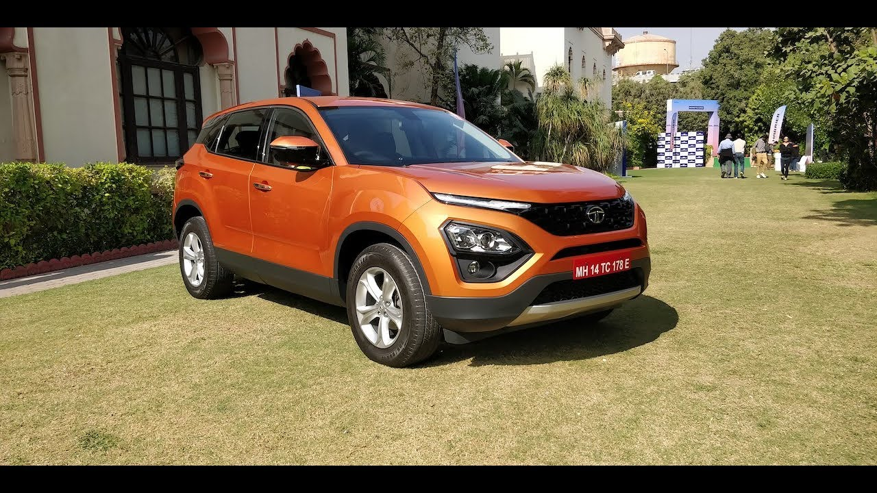 Tata Harrier Detailed Walkaround In Hindi | Exterior, Interior, Features | CarDekho.com