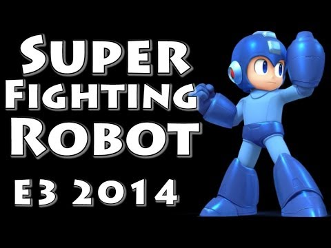 connectYoutube - Super Fighting Robot! Megaman! (Final Smash with Music!) Super Smash Bros Invitational - E3 2014
