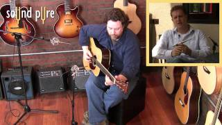 Earthworks QTC40 Microphones Acoustic Guitar Video