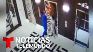 Un doctor salvó a un perro de morir estrangulado en un elevador   Noticias Telemundo