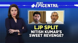 LJP Split: Nitish Kumar's Sweet Revenge? | News Epicentre With Marya Shakil | Bihar Politics - IBNLIVE