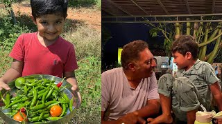 Prakash Raj Son Vedanth Enjoy Quarantine Days In Their Farm House | Prakash Raj Family - RAJSHRITELUGU