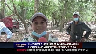 Electrifican a comunidad de Ranchería, Azua