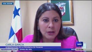 Entrevista a Carla García, gobernadora de la provincia de Panamá