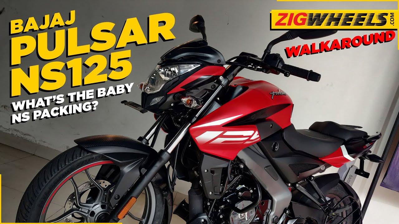 Bajaj Pulsar NS125 Walkaround | One More Pulsar? What Does It Get? | BikeDekho.com