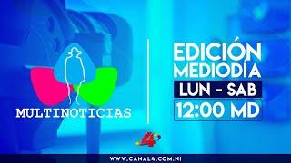 Noticias de Nicaragua - Multinoticias Mediodía, 6 de junio de 2020