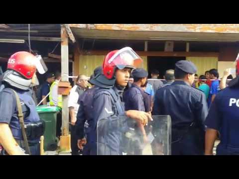 吉北瓜拉尼浪新村18木屋被拆