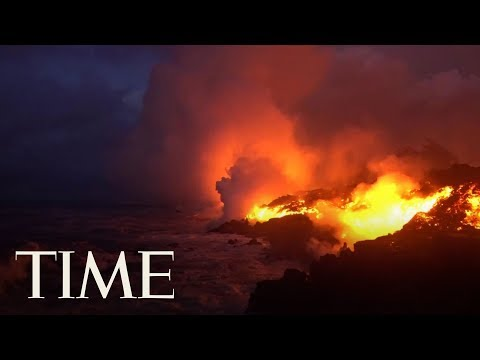 Lava From Hawaii's Kilauea Volcano Has Reached The Pacific Ocean & Is Creating A New Danger   TIME