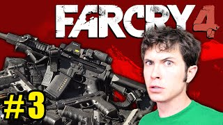 FAR CRY 4 Gameplay Part 3 - ALL THE WEAPONS - Let's Play FAR CRY 4 (Gameplay & Commentary)
