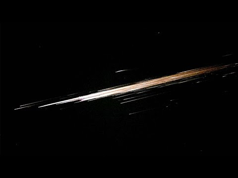 Flaming object hurtling through sky sparks fears it's an out-of-control space station