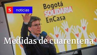 Vicky Dávila entrevista a la alcaldesa de Bogotá, Claudia López 26 de marzo 2020   Semana Noticias