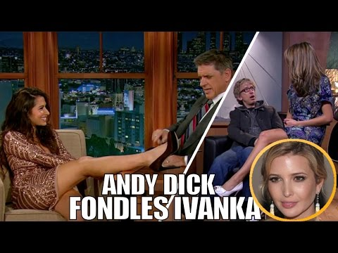 connectYoutube - Extremely Awkward & Out of Control Flirting on Late Night Talk Shows