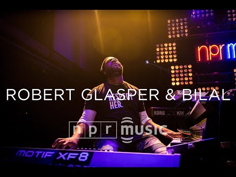 Robert Glasper & Bilal At NPR Music's 10th Anniversary Concert
