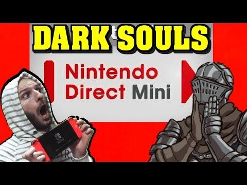 ¡¡¡NINTENDO DIRECT MINI SORPRENDE CON DARK SOULS REMASTERED!!! - Sasel - Noticias - Nintendo Switch