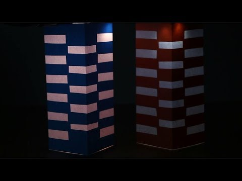 how to make a night lamp - unique project