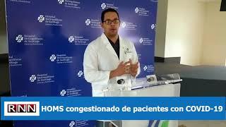 HOMS congestionado de pacientes con COVID-19