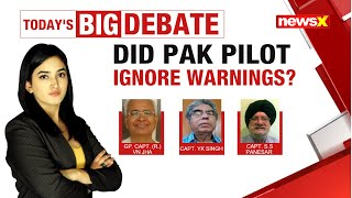 DID PAK PILOT IGNORE WARNINGS? |NewsX - NEWSXLIVE