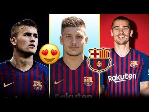 7 لاعبين سيتعاقد معهم برشلونة صيف 2019 | بينهم نجم اليونايتد و2 من أياكس ..!