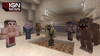 Minecraft Getting Star Wars Skins on Xbox - IGN News