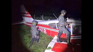 Localizan avioneta accidentada en Río Dulce