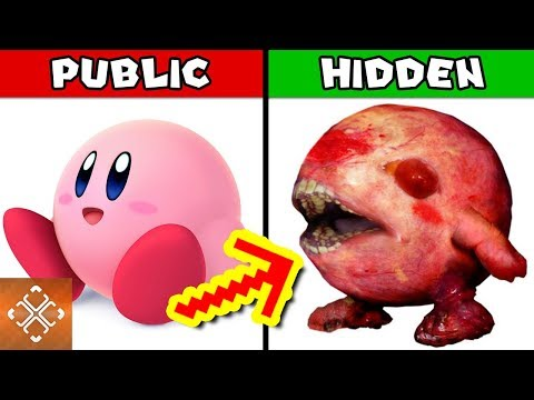 connectYoutube - 10 DARK SECRETS About Kirby Nintendo Tried To Hide