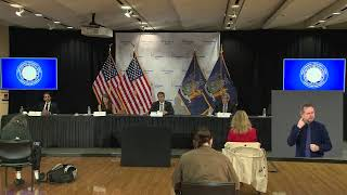 New York Governor Cuomo gives an update on COVID-19 from Long Island