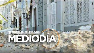 Los sismos en Puerto Rico dejaron casi 500 millones de dólares en daños   Noticias Telemundo