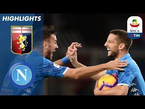 أهداف مباراة جنوة ونابولي 1-2 - البطولة الايطالية -
