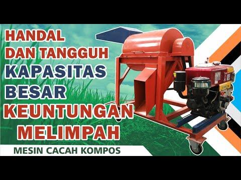 Mesin Pencacah Kompos | Pengomposan Skala Besar