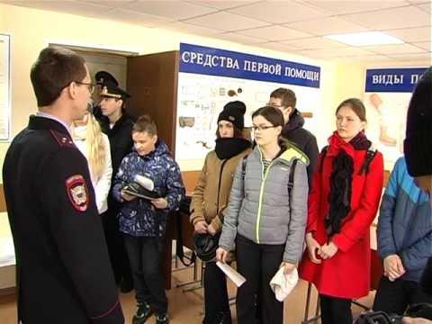 Экскурсия в Центре профессиональной подготовки УМВД России по Томской области