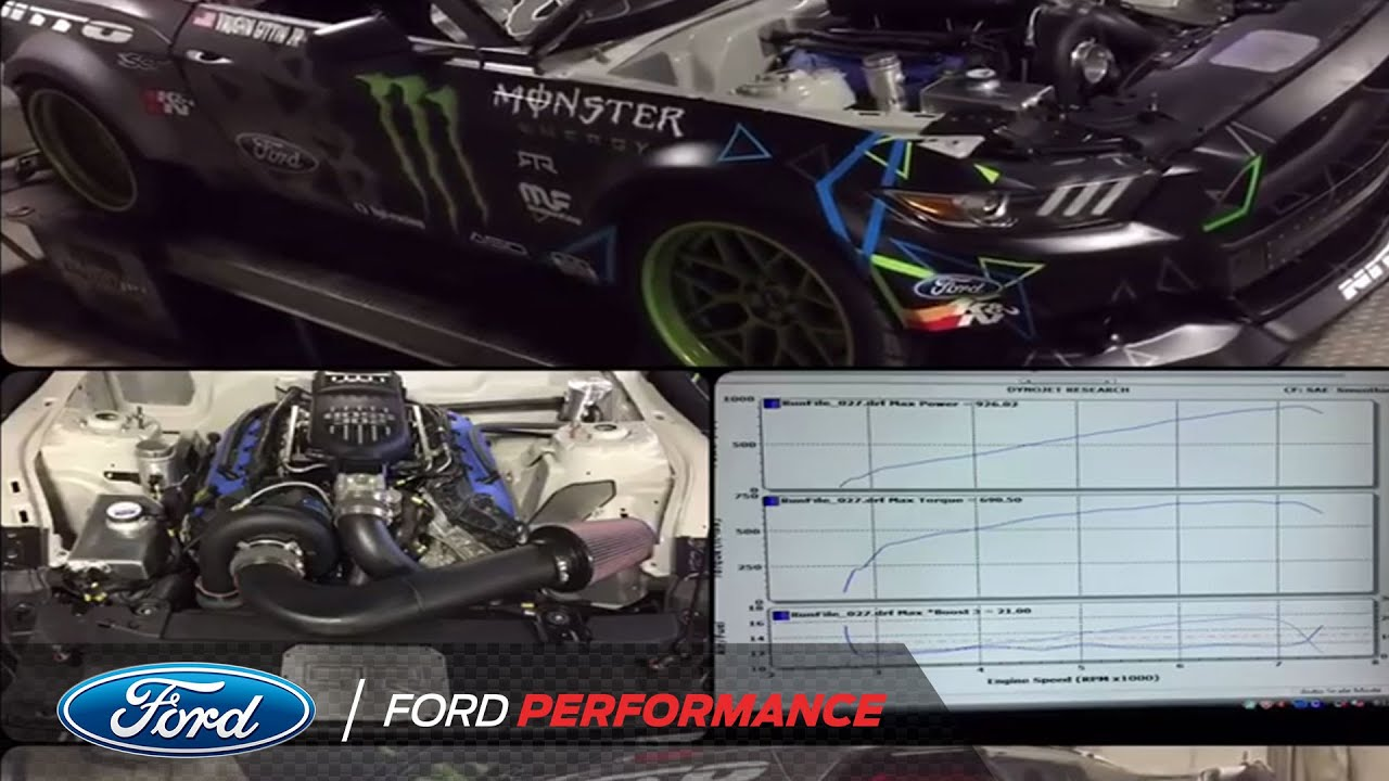 Ford Mustang RTR Engine Test
