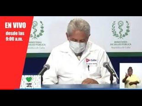 #EnVIVO|  Conferencia de Prensa del MINSAP  11 de septiembre