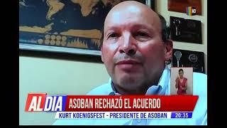 Asoban rechaza el acuerdo con los choferes