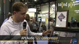 API 527 Compressor for 500-Series Introduced at AES, Oct. 2009