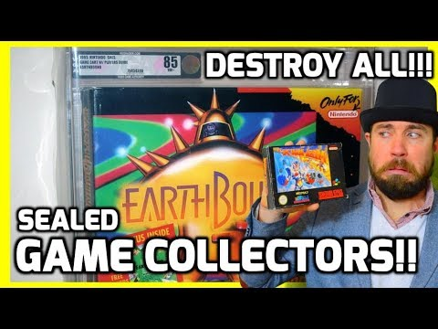 connectYoutube - Sealed Nintendo Collectors Are Horrible! - Retro Gaming Collecting Rant - THGM
