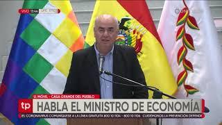 Ministro de Economía confirma y explica la ayuda que recibirán las familias