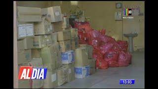 Desechos hospitalarios se acumulan en depósitos