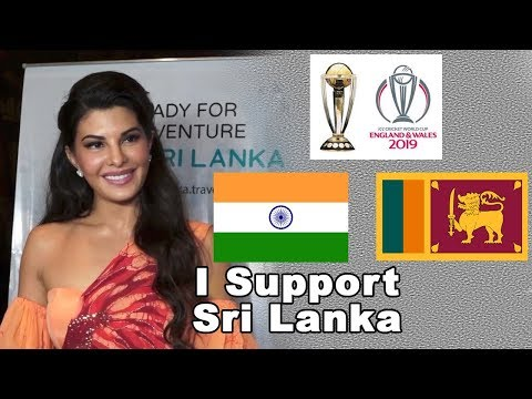 Jacqueline Fernandez Shocking Reaction On India Vs Sri Lanka World Cup Match 2019