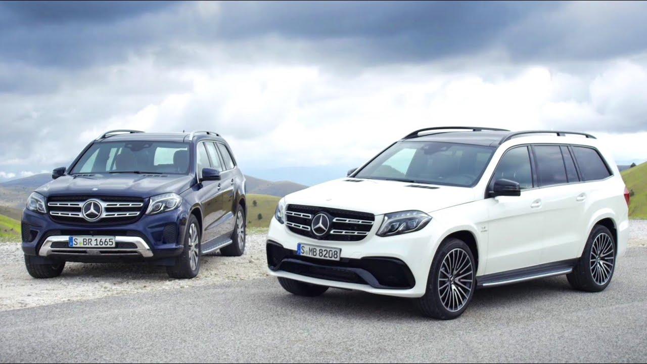 Mercedes-Benz TV: The new GLS  Trailer.