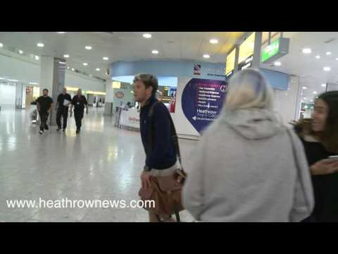 Niall Horan returns from 2016 Ryder Cup