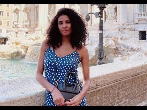 Chloé Mortaud dégaine un décolleté XXL... l'ancienne Miss France à deux doigts...