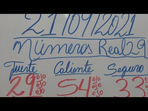 NUMEROS PARA HOY 21/09/2021 DE SEPTIEMBRE PARA TODAS LAS LOTERIAS