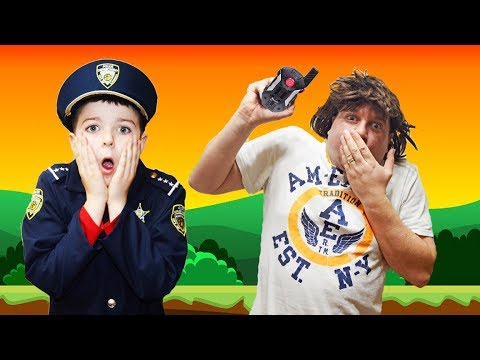 Officer Smalls Walkie Talkie is Missing a Silly Funny Kids Video