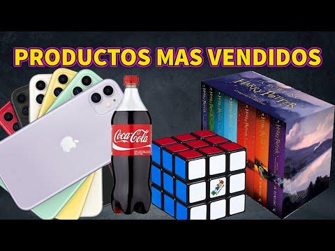 PRODUCTOS MAS VENDIDOS A NIVEL MUNDIAL, DATOS.