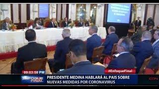 Presidente Danilo  Medina hablará al país sobre nuevas medidas por coronavirus
