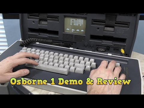 Osborne 1 Computer Part 3 - Demonstration and Review
