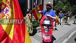 Spain: Protesters demand government resignation over handling of coronavirus crisis