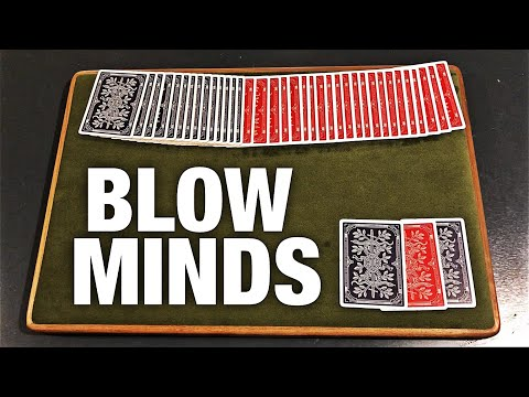 The GREATEST Card Trick You Can Learn In SECONDS!